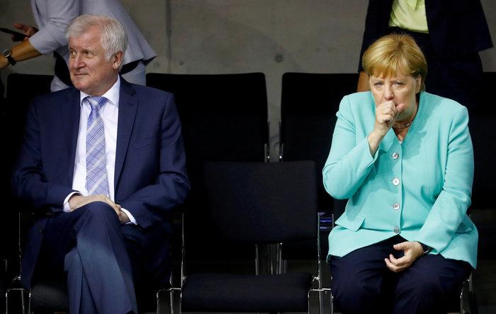 Μέρκελ: Όταν η καγκελάριος νυστάζει ή νέο περιστατικό;