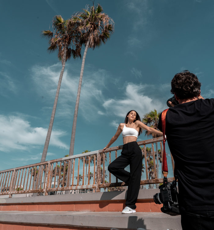 Η Demy στο Λος Άντζελες: ποζάρει στον φωτογράφο της Beyonce - εικόνα 3