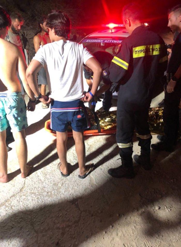 Γουρούνα έπεσε σε γκρεμό-Σοβαρά τραυματισμένη μια τουρίστρια
