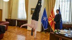 Τα ακροβατικά του πρέσβη του Ισραήλ στον Πενταρόφσκι