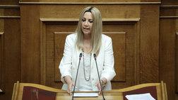 Βουλή-Γεννηματά: «Με ποιες δεσμεύσεις θα μειωθούν τα πλεονάσματα;»