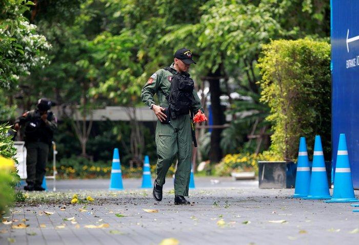 Σύνοδος ΥΠΕΞ Νοτιονατολικής Ασίας: Βόμβες στην Μπανγκόκ, 3 τραυματίες - εικόνα 2