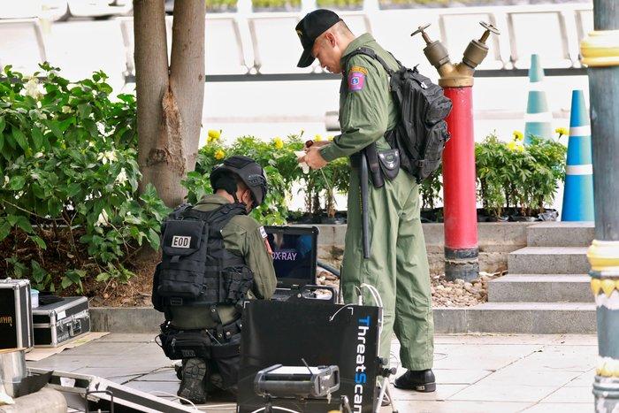 Σύνοδος ΥΠΕΞ Νοτιονατολικής Ασίας: Βόμβες στην Μπανγκόκ, 3 τραυματίες - εικόνα 3