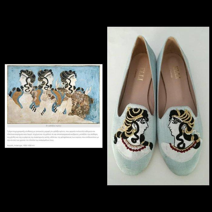 Έλλη Λυραράκη: Η σχεδιάστρια που έστειλε τον Μινωικό πολιτισμό στο Παρίσι - εικόνα 2