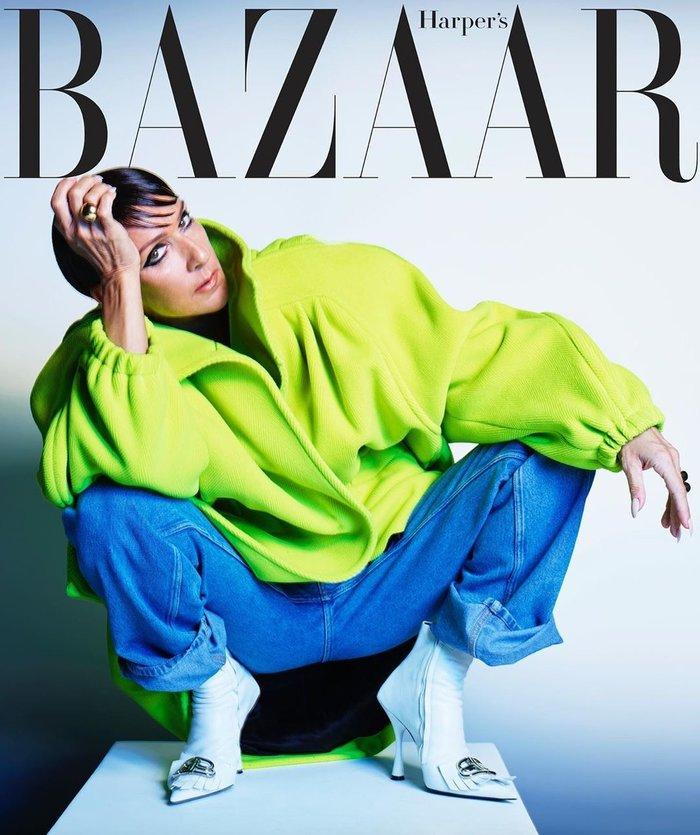 Η φωτογράφηση της Σελίν Ντιόν: το style icon με μελαχρινή περούκα - εικόνα 2