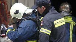 Φωτιά σε έκταση κοντά στο αεροδρόμιο «Μακεδονία», κοντά σε οικισμό Ρομά