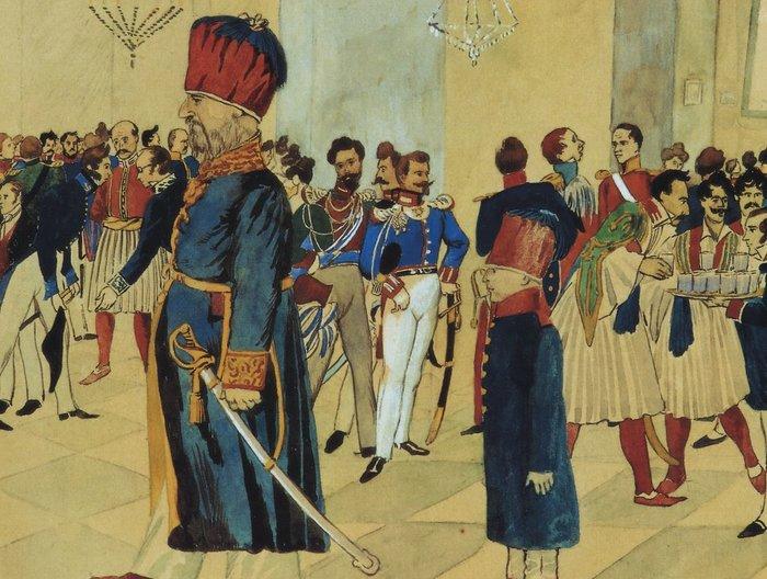 Τι είδε ο βαρόνος Κωνσταντίνος Μπέλλιος στην Ελλάδα του 1836-7