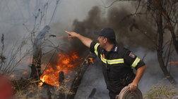 Στο αυτόφωρο ανήλικος και 37χρονος για τη φωτιά στο Ηράκλειο