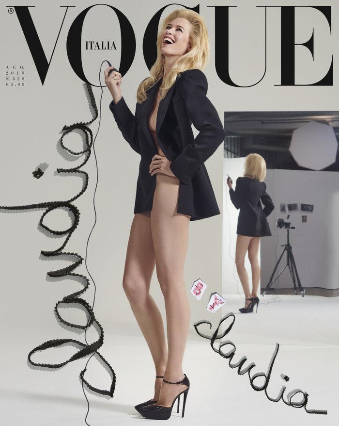 Η Κλόντια Σίφερ επέστρεψε! Αισθησιακή στην ιταλική Vogue