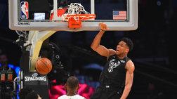 Στην τρίτη καλύτερη πεντάδα της δεκαετίας στο NBA