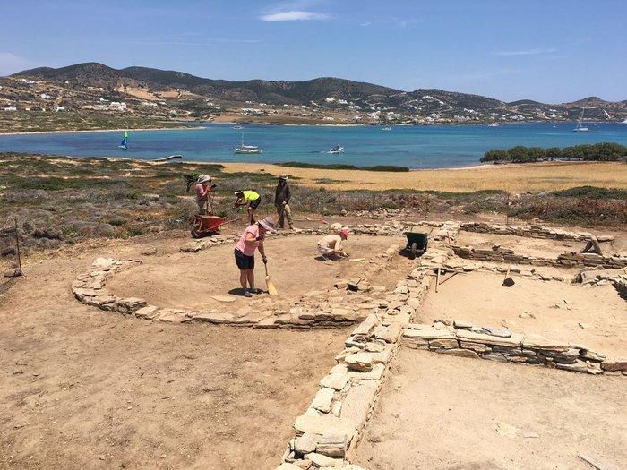 Ανασκαφή Δεσποτικού: Στο φως η αρχιτεκτονική της ύστερης αρχαϊκής περιόδου