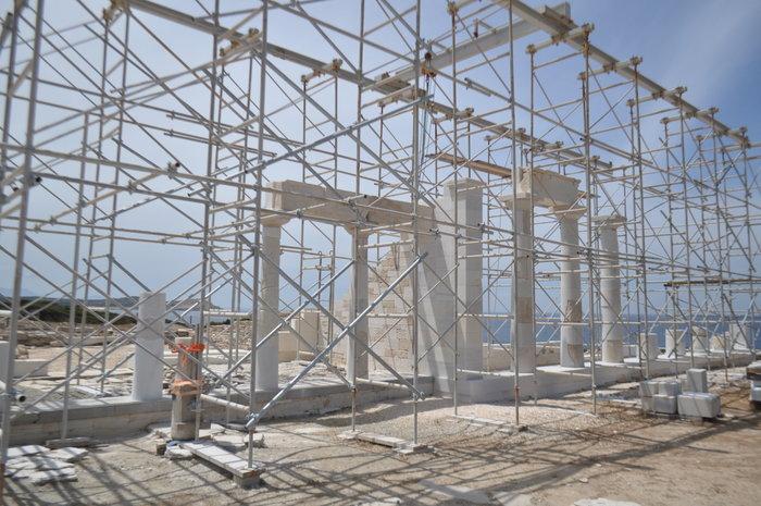 Ανασκαφή Δεσποτικού: Στο φως η αρχιτεκτονική της ύστερης αρχαϊκής περιόδου - εικόνα 8