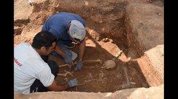 Ασύλητος τάφος ήρθε στο φως στην Κοζάνη
