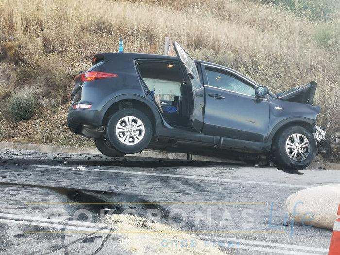 Τροχαίο με νεκρή στα Χανιά - Μετωπική τζιπ και φορτηγού