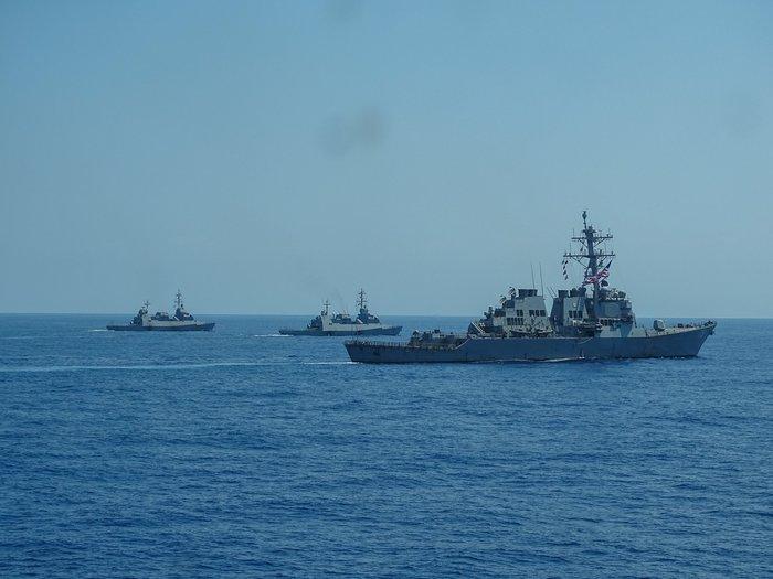 Κοινά ναυτικά γυμνάσια Ελλάδας-Ισραήλ-ΗΠΑ-Γαλλίας στη ΝΑ Μεσόγειο - ΦΩΤΟ - εικόνα 4