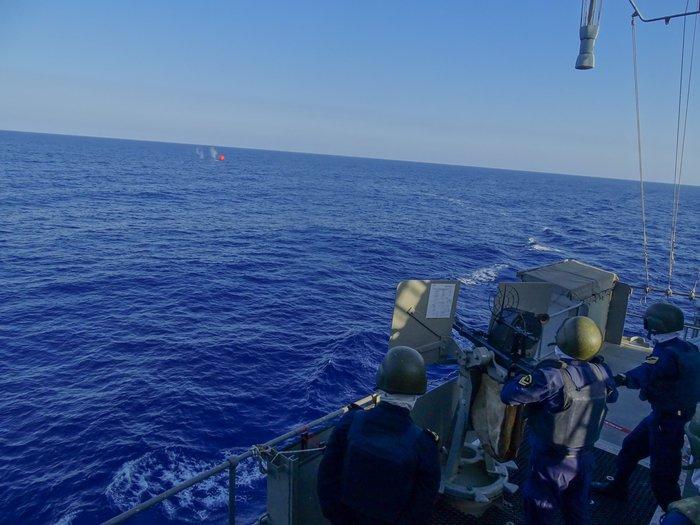 Κοινά ναυτικά γυμνάσια Ελλάδας-Ισραήλ-ΗΠΑ-Γαλλίας στη ΝΑ Μεσόγειο - ΦΩΤΟ