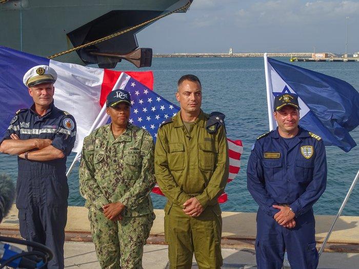 Κοινά ναυτικά γυμνάσια Ελλάδας-Ισραήλ-ΗΠΑ-Γαλλίας στη ΝΑ Μεσόγειο - ΦΩΤΟ - εικόνα 5