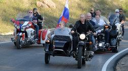Easy rider στην Κριμαία ο Πούτιν με εθνικιστές μηχανόβιους [Εικόνες]
