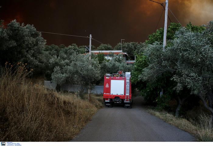 Εύβοια: Στα σπίτια του χωριού Μακρυμάλλη ο πύρινος εφιάλτης - εικόνα 10