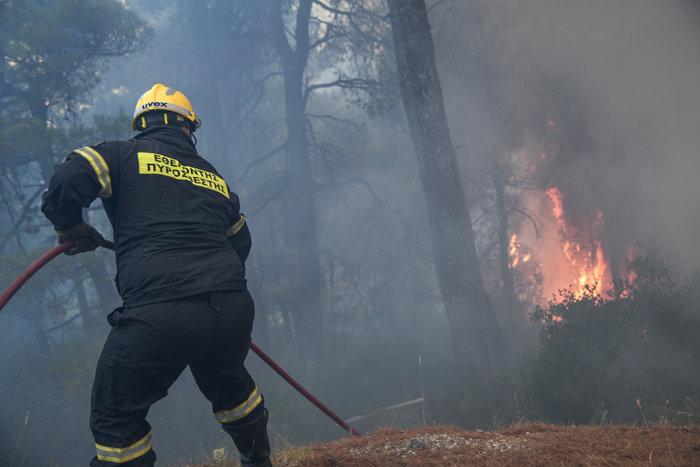 Νύχτα-κόλαση για την Εύβοια-Ολονύχτια μάχη με τις φλόγες - εικόνα 2