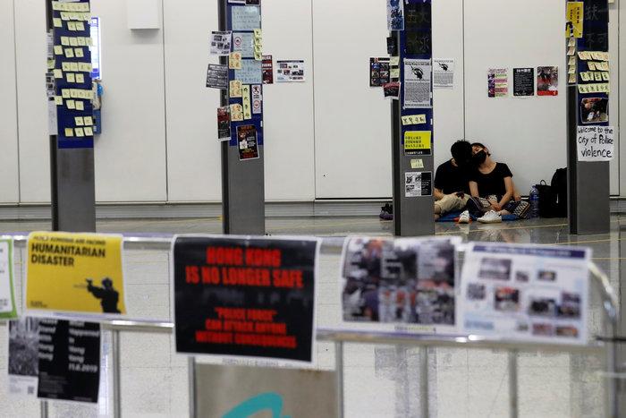 Ξανάνοιξε το αεροδρόμιο του Χονγκ Κονγκ - εικόνα 2