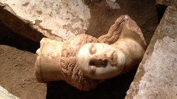 Στο μουσείο της Αμφίπολης η κεφαλή από τη Σφίγγα