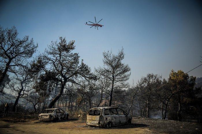 Τεράστια οικολογική καταστροφή, μάχη με τις αναζωπυρώσεις στην Εύβοια - εικόνα 4