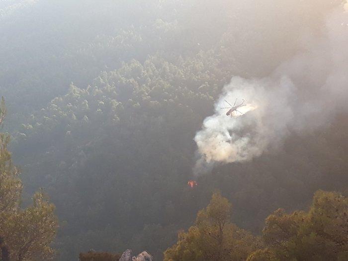 Φωτιά στην Εύβοια: Η αντιμετώπιση των αναζωπυρώσεων βασικός στόχος - εικόνα 2