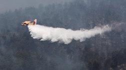 Τρίτη ημέρα μάχη με τις φλόγες στην Εύβοια, σε χαράδρα η φωτιά