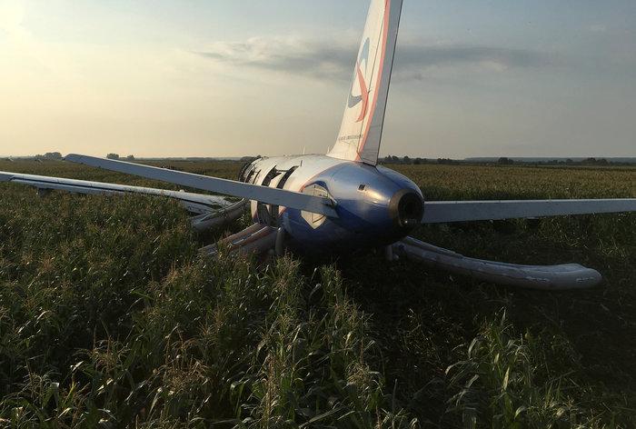 Αναγκαστική προσγείωση σε χωράφι σε πτήση με 233 επιβαίνοντες - εικόνα 4