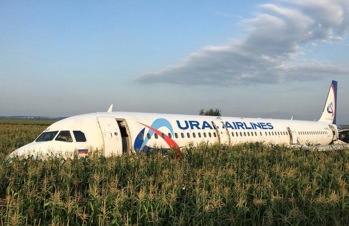 Αναγκαστική προσγείωση σε χωράφι σε πτήση με 233 επιβαίνοντες - εικόνα 3