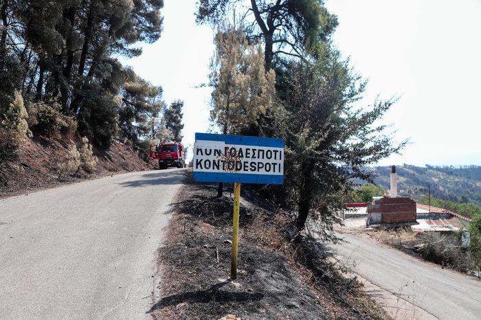 Εύβοια: Χωρίς ενεργό μέτωπο η φωτιά- Oι ενδείξεις εμπρησμού - εικόνα 4