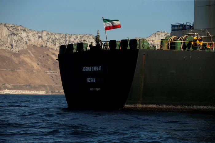 Σήκωσε άγκυρα το ιρανικό δεξαμενόπλοιο Adrian Darya 1 (βίντεο) - εικόνα 2