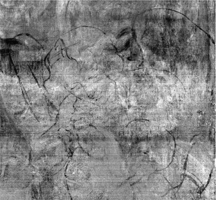 Άγνωστα σχέδια κάτω από διάσημο πίνακα του Λεονάρντο ντα Βίντσι