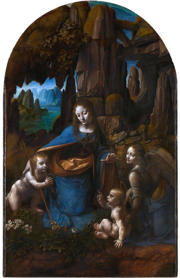 Άγνωστα σχέδια κάτω από διάσημο πίνακα του Λεονάρντο ντα Βίντσι - εικόνα 2