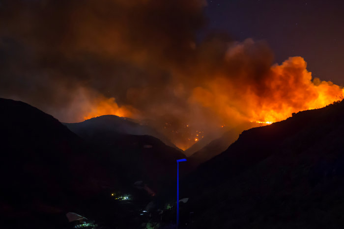 Στο έλεος της φωτιάς το Γκραν Κανάρια-60.000 στρέμματα κάηκαν - εικόνα 2