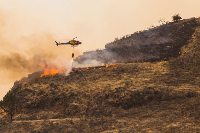 Στο έλεος της φωτιάς το Γκραν Κανάρια-60.000 στρέμματα κάηκαν - εικόνα 3
