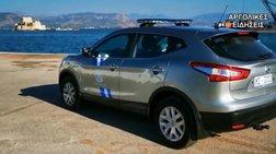 """""""Βουτιά"""" αυτοκινήτου στο λιμάνι του Ναυπλίου-Σώος ο οδηγός (βίντεο)"""