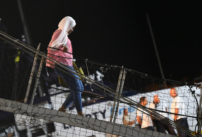 Tέλος στην οδύσσεια: Στη Λαμπεντούζα οι μετανάστες του Open Arms - εικόνα 9