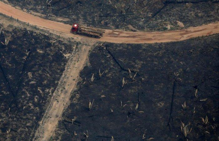 BBC: Το μέγεθος της καταστροφής του Αμαζονίου από ψηλά