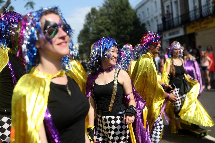 Καρναβάλι Νότινγκ Χιλ: Το μεγαλύτερο street party στον κόσμο [ΕΙΚΟΝΕΣ]