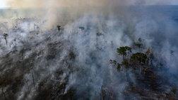Ούτε ο στρατός κατάφερε να περιορίσει τη φωτιά στον Αμαζόνιο
