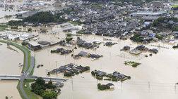 Πλημμύρες στην Ιαπωνία, απομακρύνονται χιλιάδες κάτοικοι