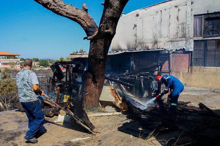 Εικόνες από τη φωτιά στην Αρτέμιδα - εικόνα 5