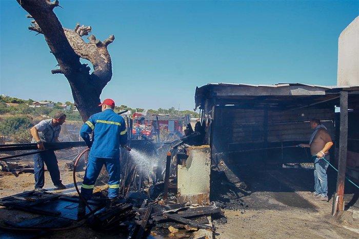 Εικόνες από τη φωτιά στην Αρτέμιδα - εικόνα 3