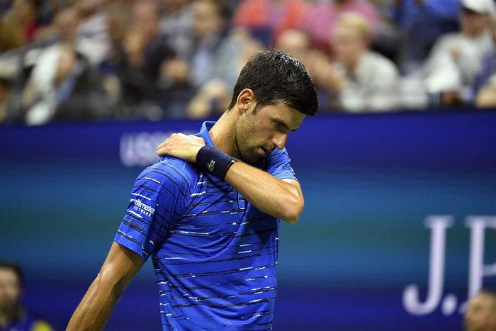 Άδοξο φινάλε του Νόβακ Τζόκοβιτς στο US Open 2019