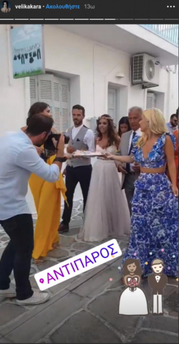 Μαρία Αναστασοπούλου: Έγινε κουμπάρα με τον σύντροφό της στην Αντίπαρο - εικόνα 6