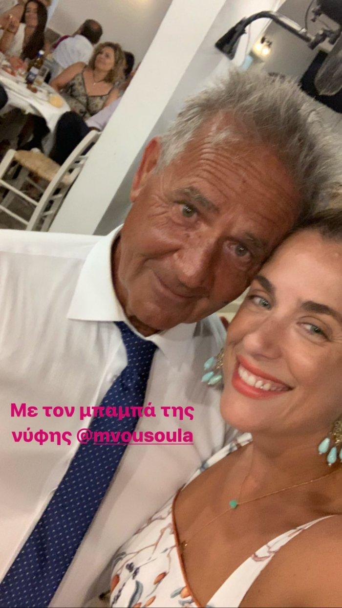 Μαρία Αναστασοπούλου: Έγινε κουμπάρα με τον σύντροφό της στην Αντίπαρο - εικόνα 8