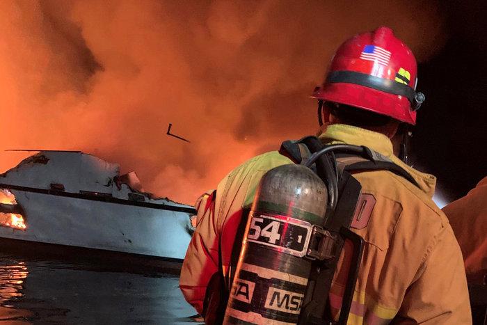 Φωτιά σε σκάφος στα ανοιχτά της Καλιφόρνιας, φόβοι για δεκάδες νεκρούς - εικόνα 2