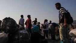 Στη Θεσσαλονίκη οι πρώτοι πρόσφυγες από τη Λέσβο - Συνεχίζεται η επιχείρηση